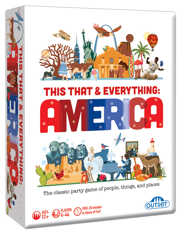 This That & Everything: America card game by Outset Media