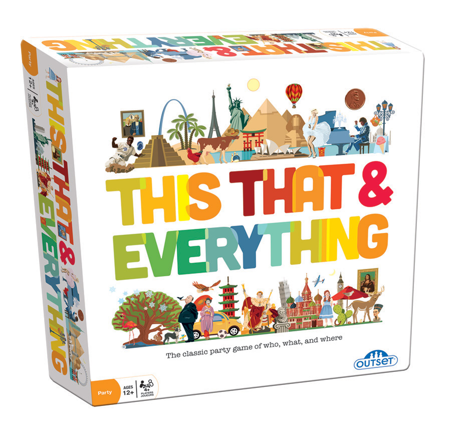 This That and Everything party game by Outset Media
