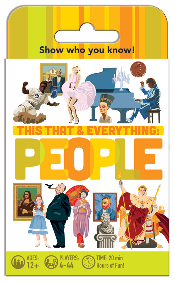 This That and Everything People card game by Outset Media
