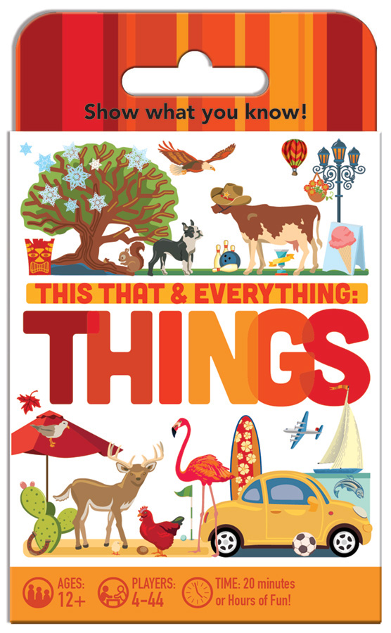 This That and Everything Things card game by Outset Media