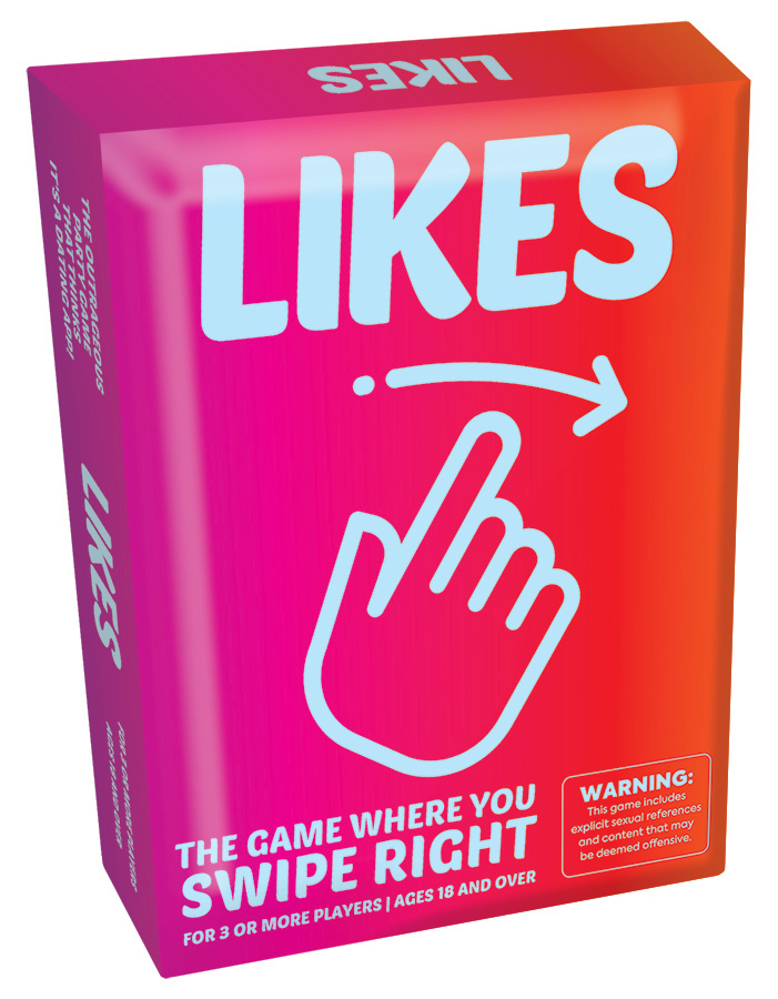 Likes adult party game 18 and over only