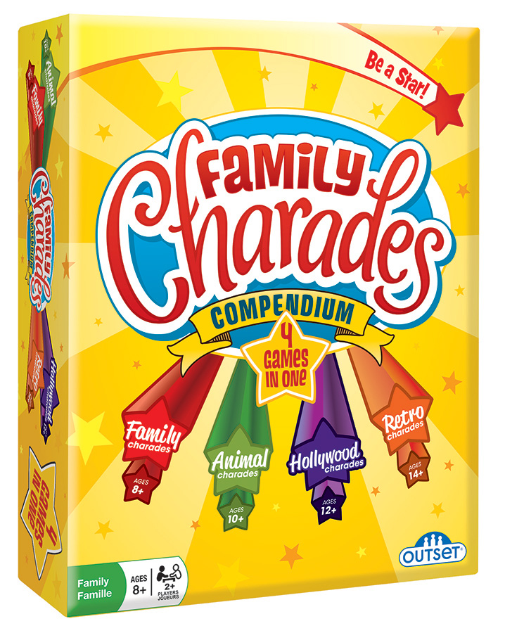 Family Charades Compendium by Outset Media