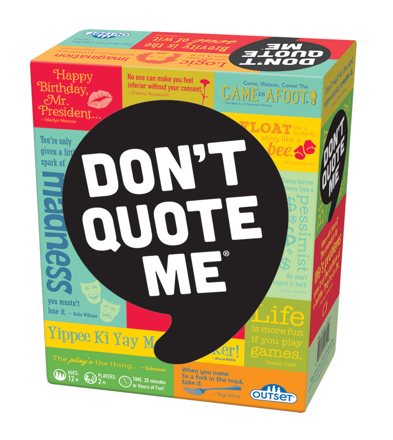 Don't Quote Me by Outset Media