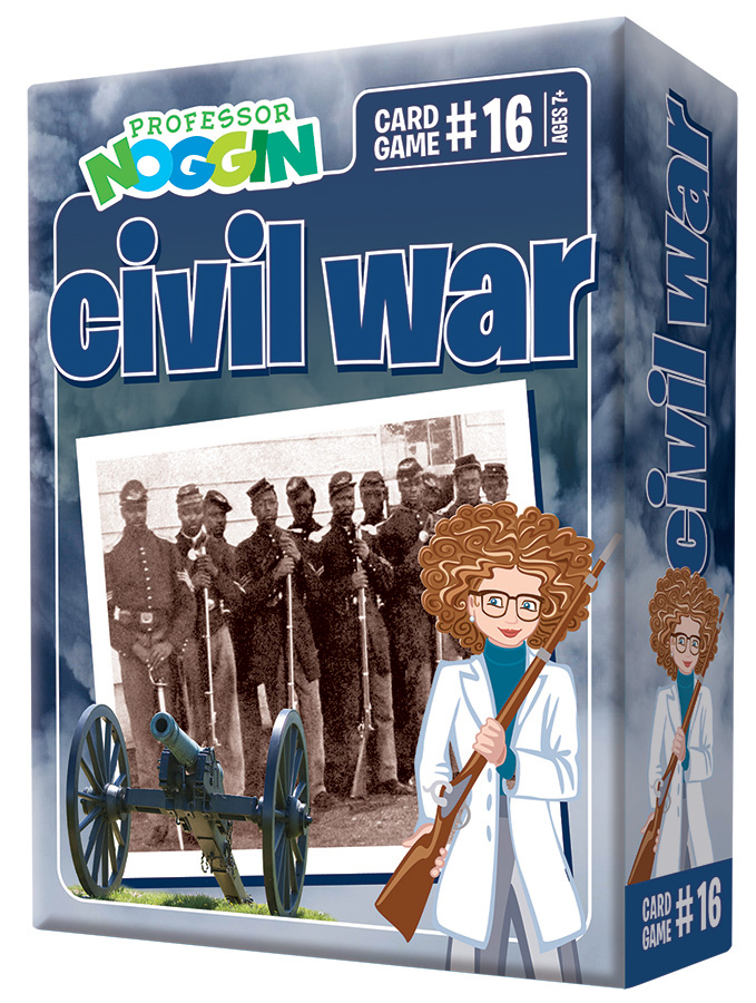 Professor Noggin Civil War kids cards game 2020