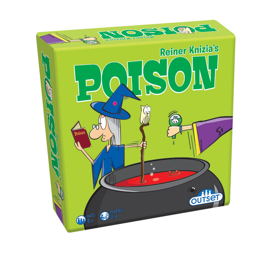 Poison Reiner Knizia's card game by Outset Media