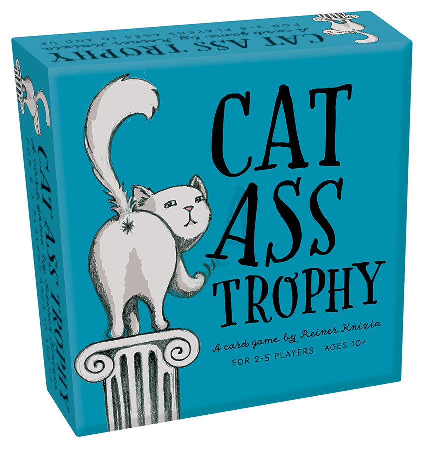 Cat Ass Trophy Reiner Knizia's card game by Outset Media