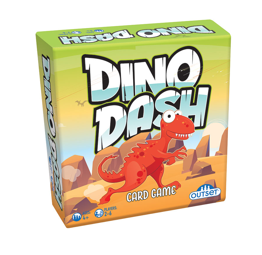 Dino Dash card game by Outset Media