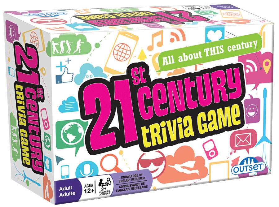 21st Century Trivia Game by Outset