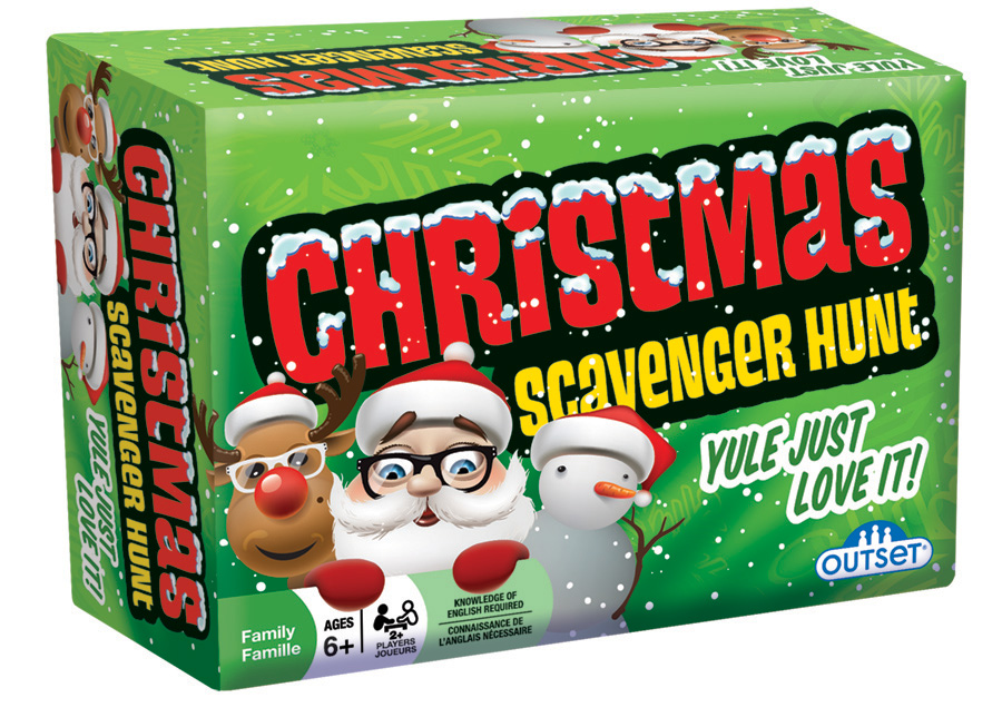 Christmas Scavenger Hunt party game by Outset Media