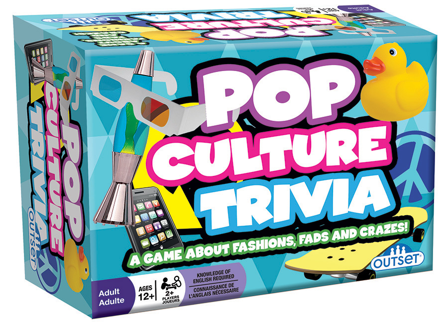 Pop Culture Trivia party game by Outset Media