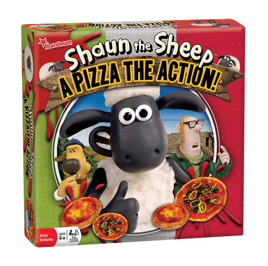 Shaun the Sheep A Pizza the Action board game by Outset Media