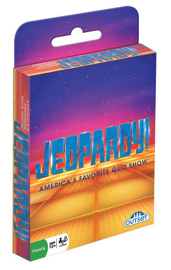 Jeopardy!® Hang Tab Card Game by Outset Media
