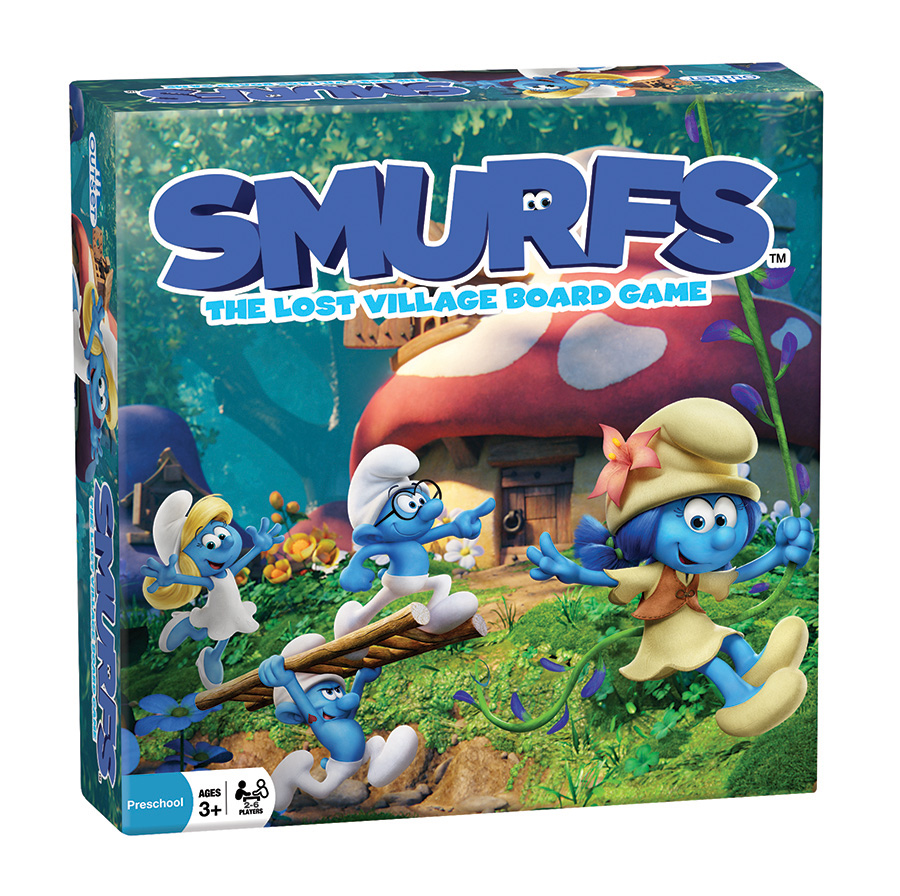 Smurfs The Lost Village Board Game by Outset Media