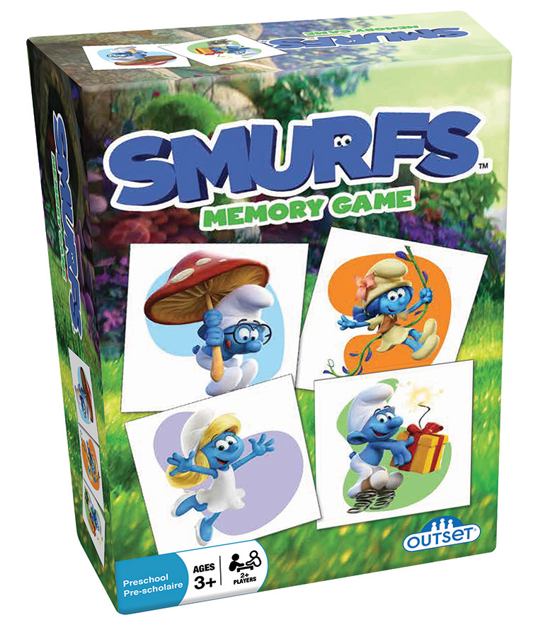 Smurfs™ Memory Game by Outset Media