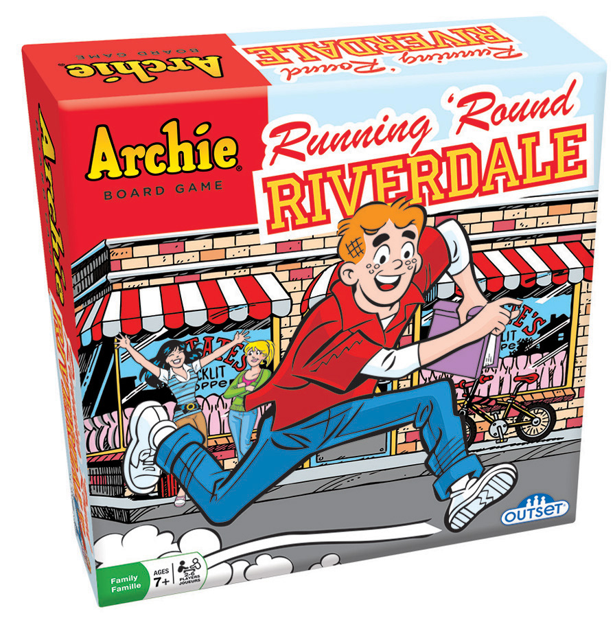 Running 'Round Riverdale board game