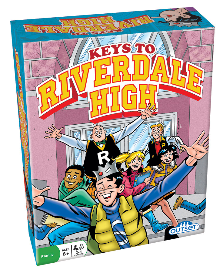 Keys to Riverdale High - a tile based game by Outset Media