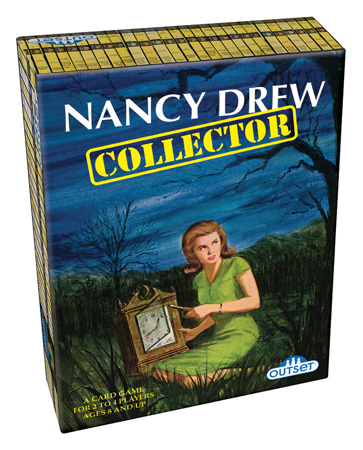 Nancy Drew Collector card game by Outset Media