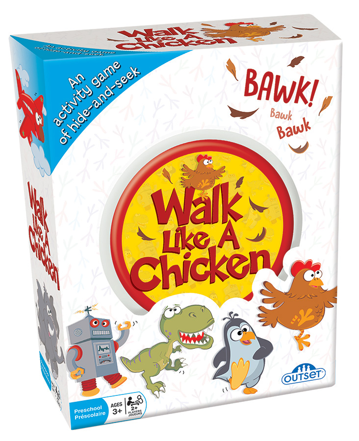Walk Like A Chicken (Tin) card game by Outset Media