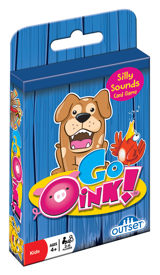 Go Oink! (hang tab) card game by Outset
