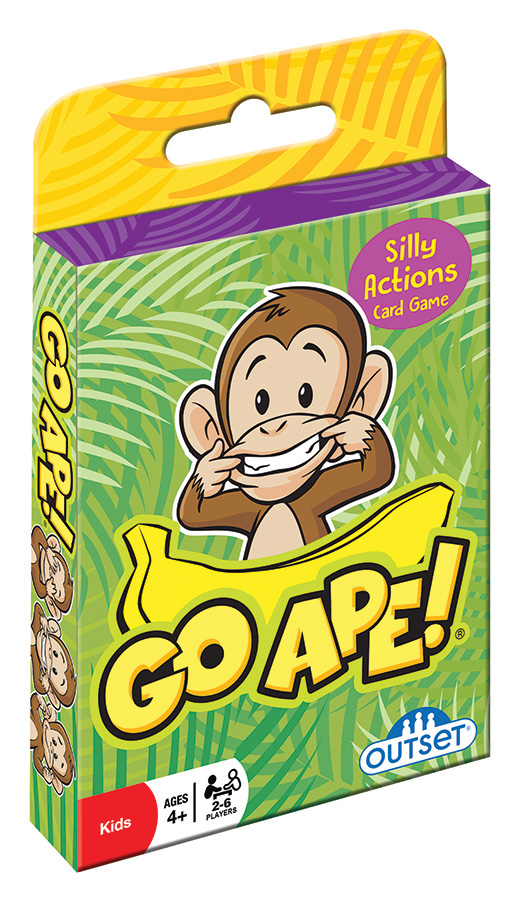 Go Ape (hang tab) card game by Outset