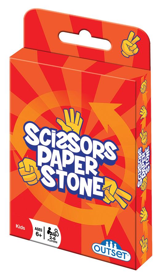 Scissors Paper Store card game by Outset Media