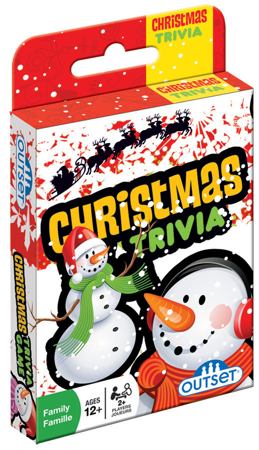 christmas trivia card game by outset media - Christmas Card Games
