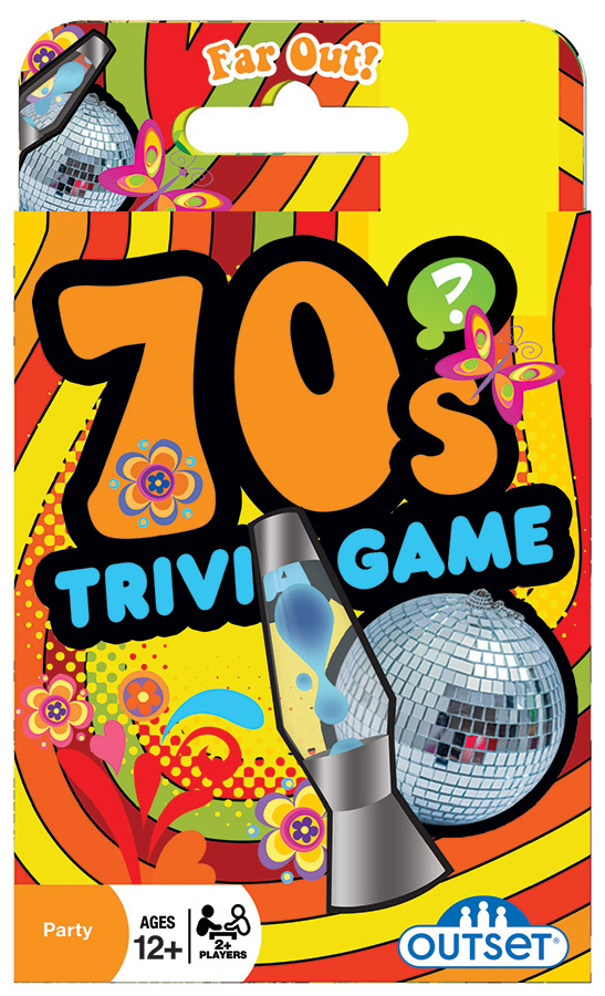 70s Trivia Card Game by Outset