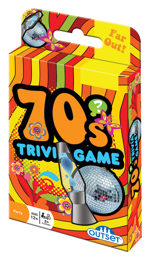 70s Trivia Game card game by Outset Media