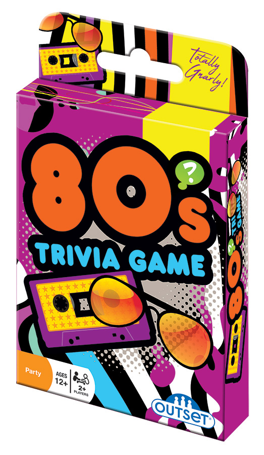 80s Trivia Game card game by Outset Media