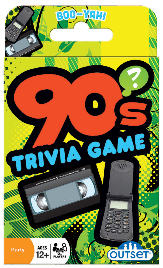 90s Trivia Card Game by Outset