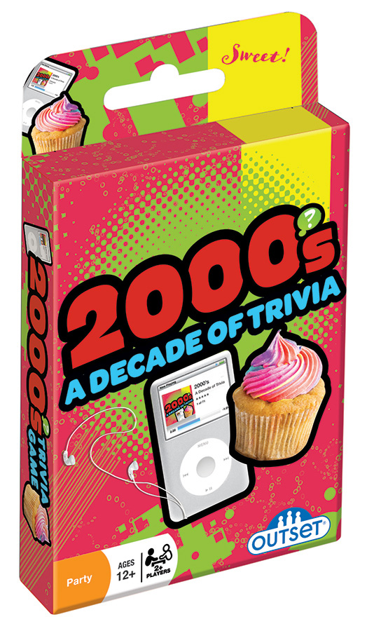 2000s A Decade of Triviacard game by Outset Media