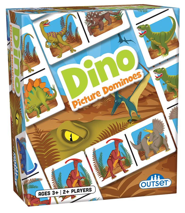 Picture Dominoes: Dino by Outset Media