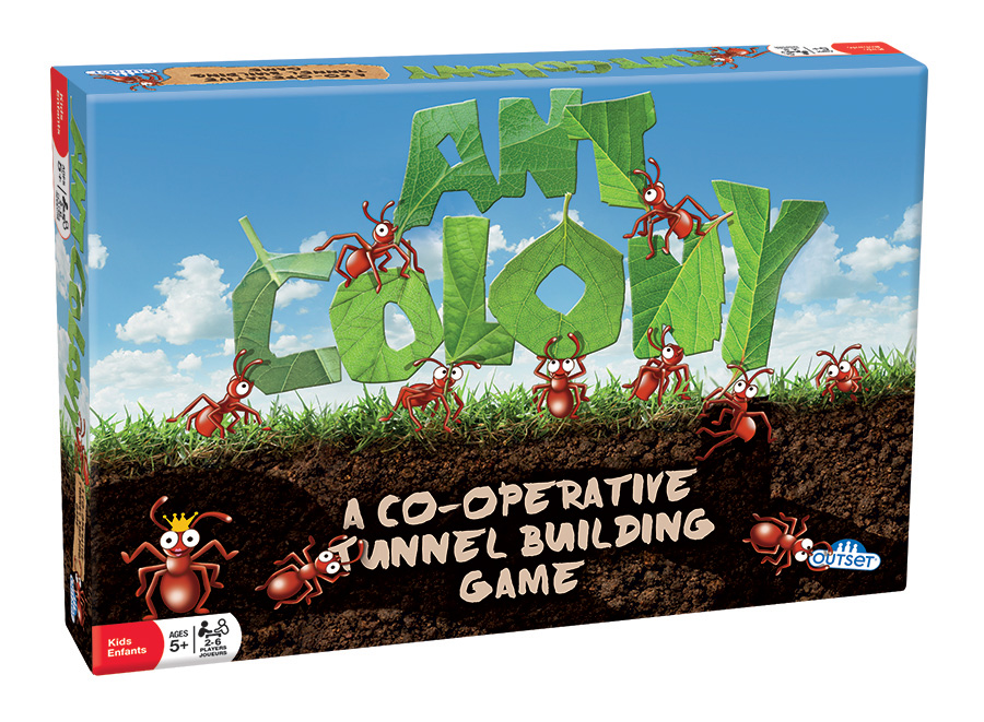 Ant Colony tunnel building game by Outset Media