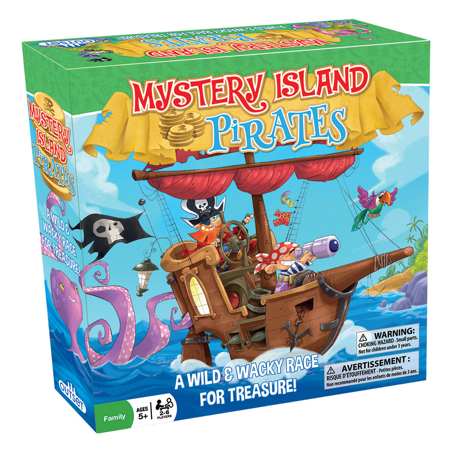 Mystery Island Pirates game by Outset Media