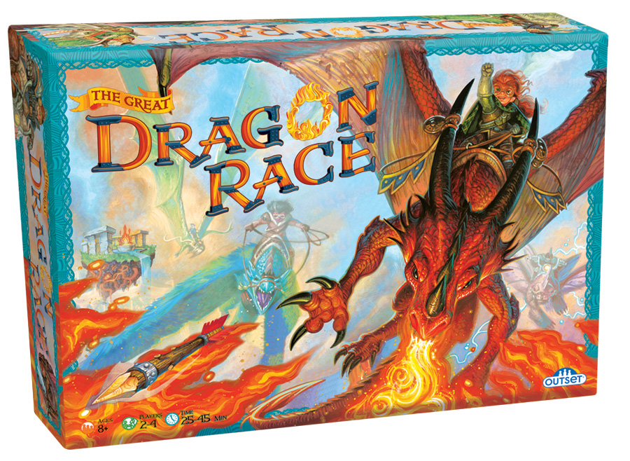 The Great Dragon Race family game by Outset Media