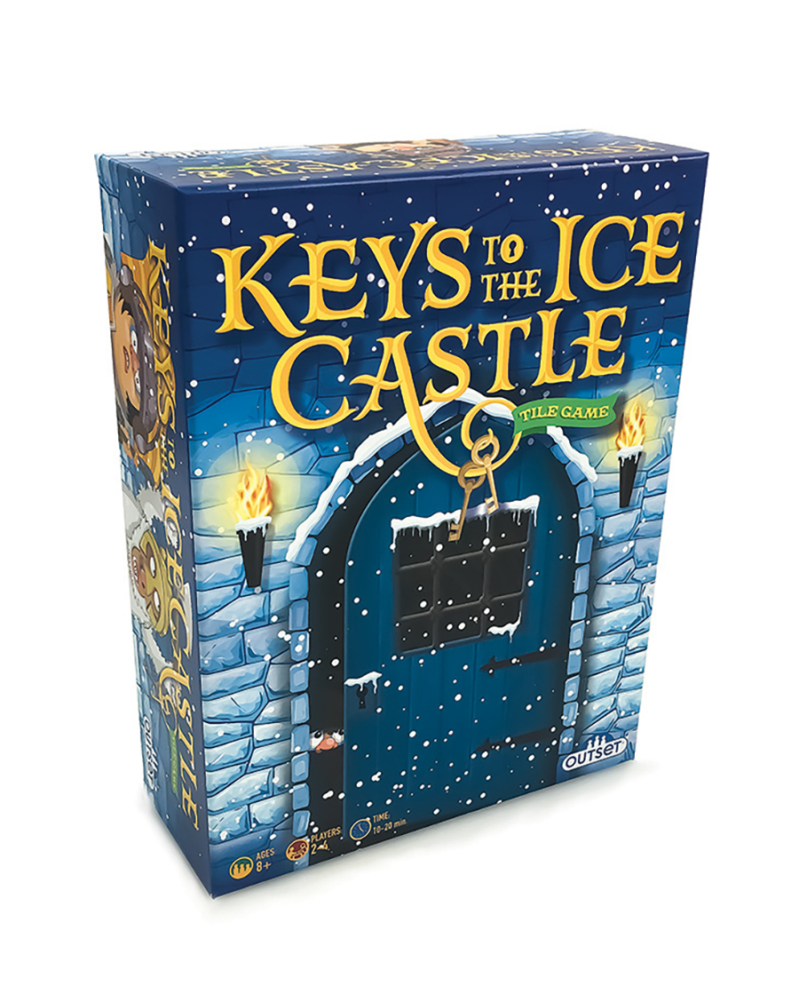Keys to the Ice Castle - a tile based game by Outset Media