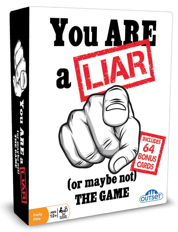 You Are a Liar MM by Outset Media party game
