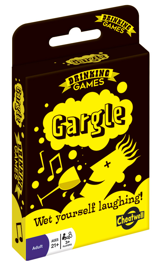 Gargle adult card game from Outset Media