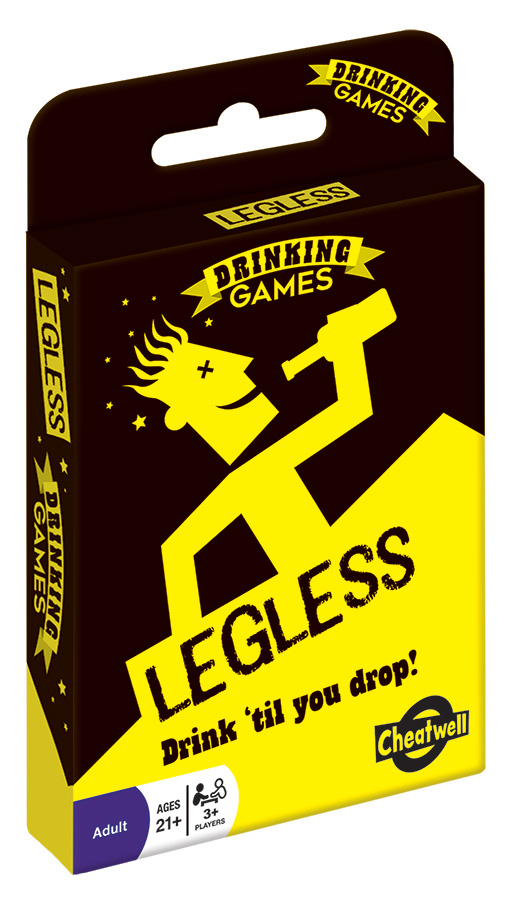 Legless adult card game from Outset Media