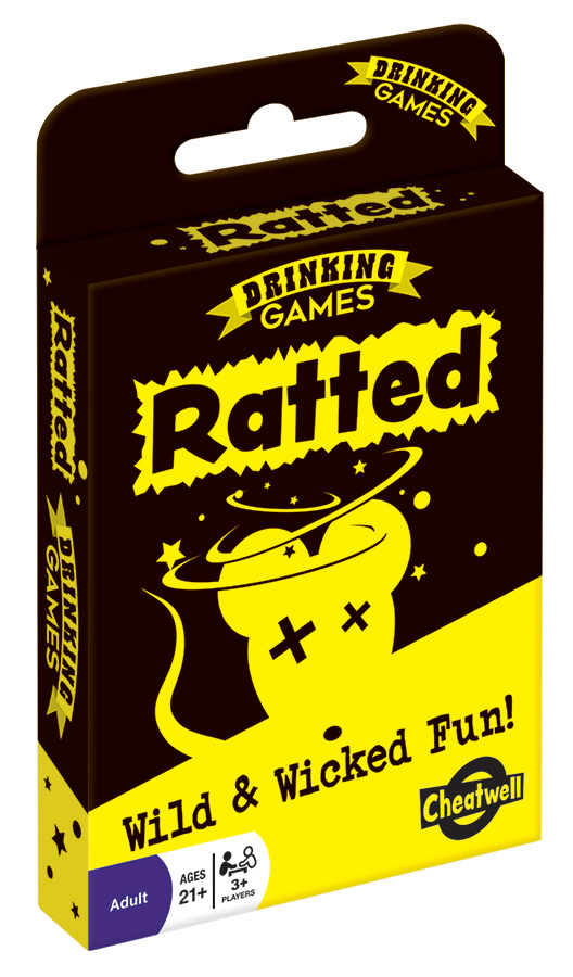 Ratted adult party game by Outset Media