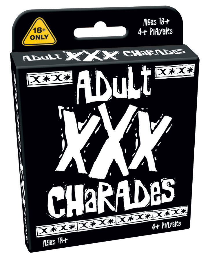 Adult XXX Charades card game by Outset Media