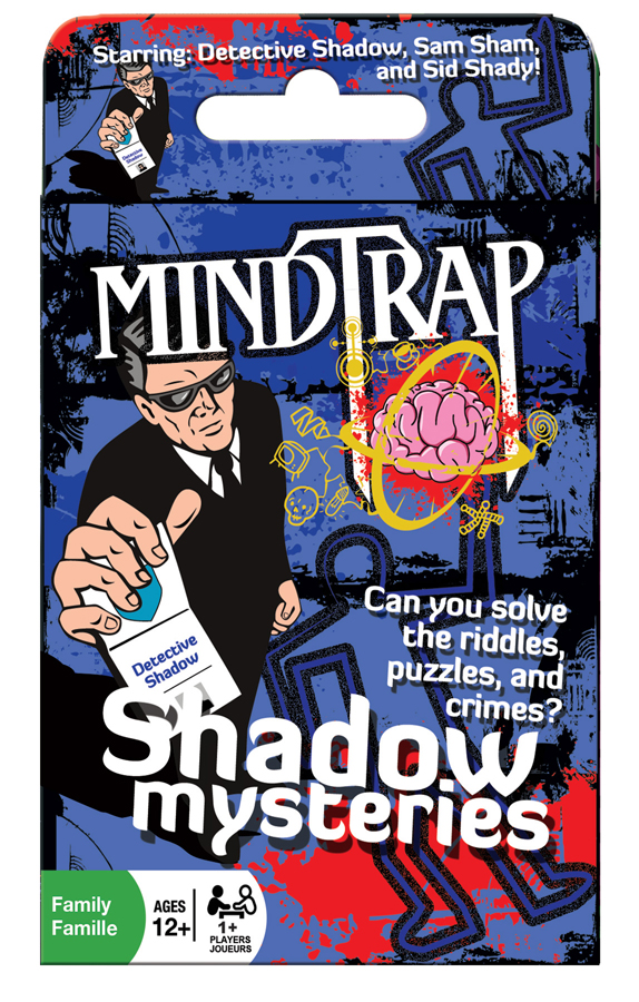 MindTrap® Shadow Mysteries card game brain teaser
