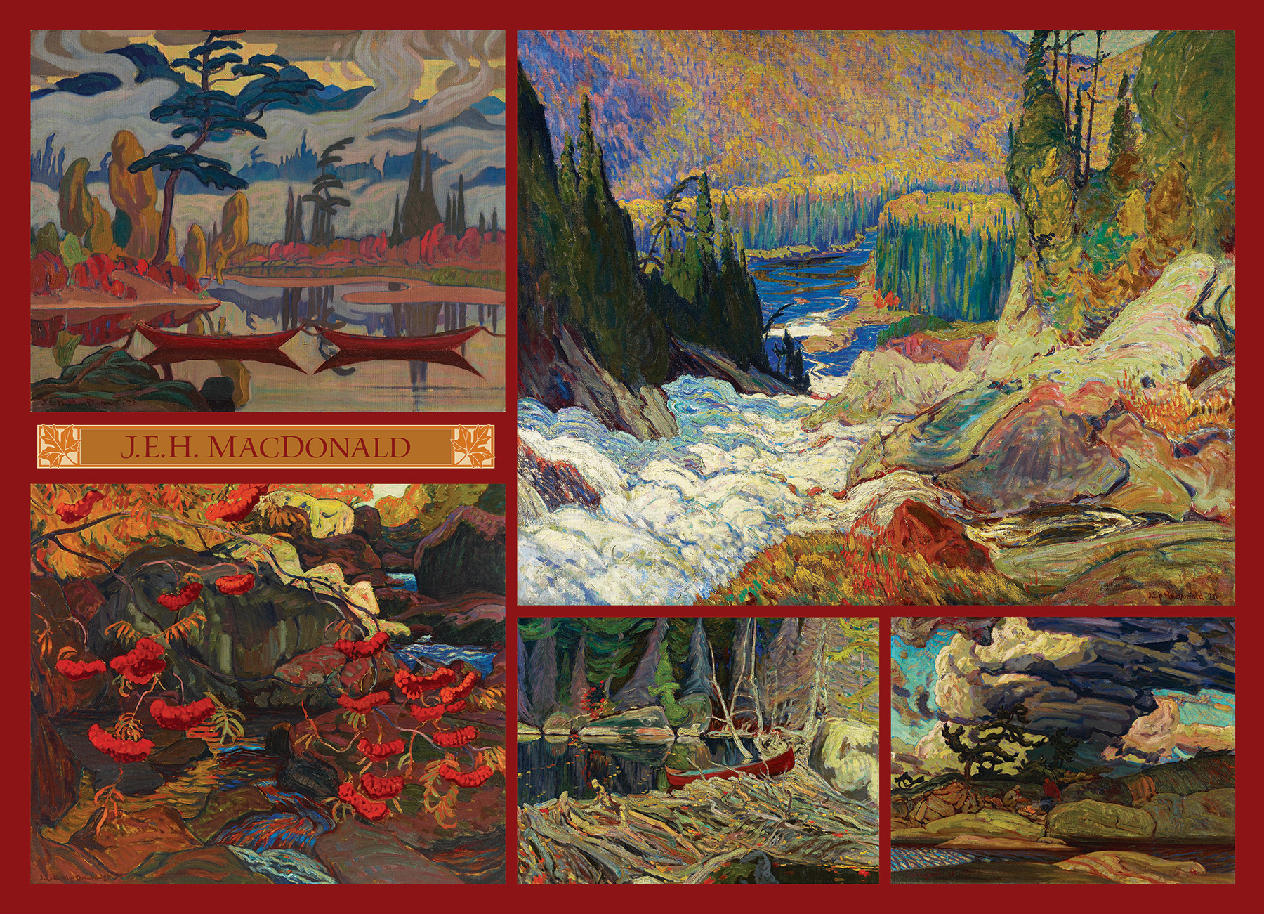 MacDonald Collection - 1000 piece - Cobble Hill Puzzle Co - Canadian Artist Series