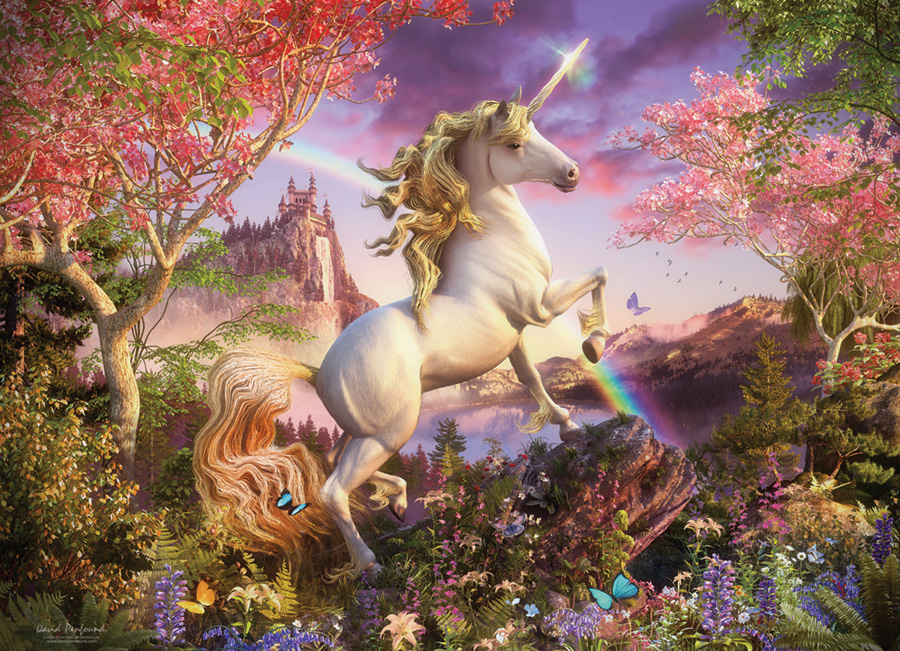 Realm of the Unicorn (Family) 350 Family Piece puzzle by Cobble Hill