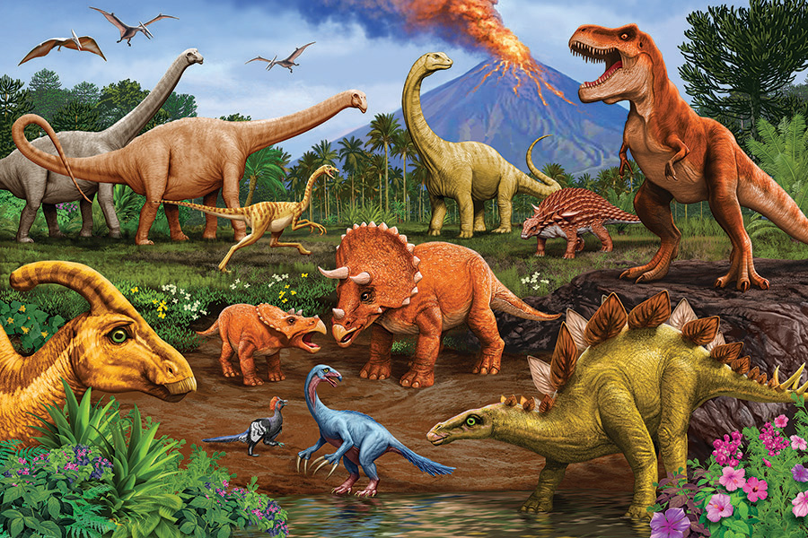 Dinos 36 piece Floor Puzzle by Cobble Hill