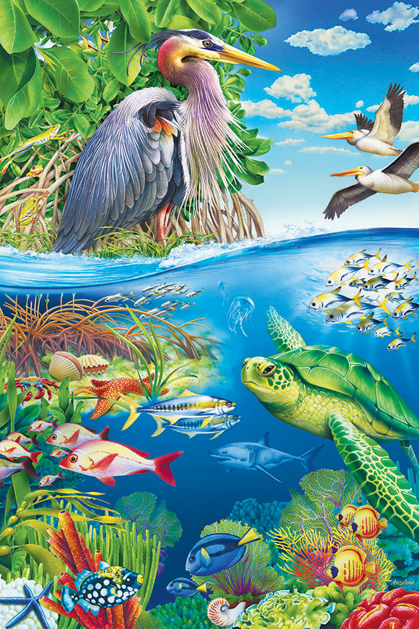 Air and Sea 48 piece Floor Puzzle by Cobble Hill