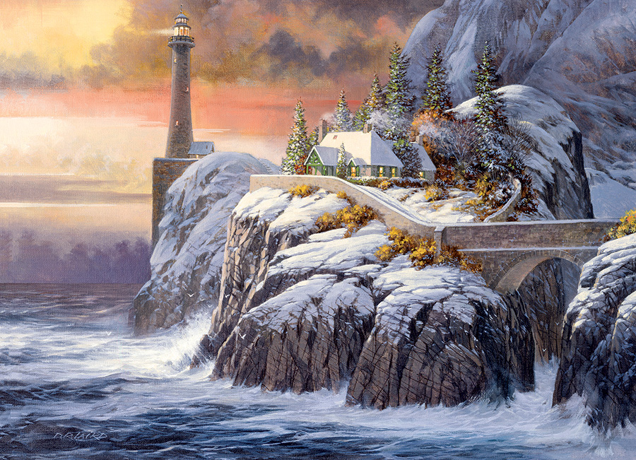 Winter Lighthouse Outset Media Games