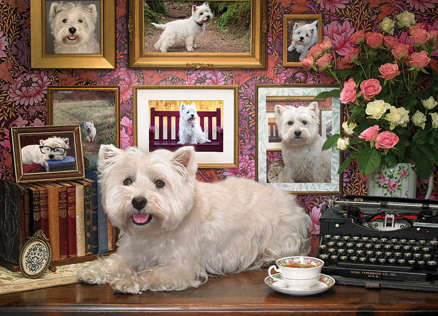 Westies Are My Type 1000 piece Cobble Hill puzzle