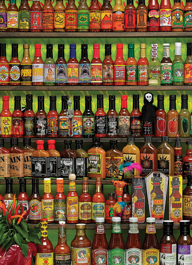 Hot Hot Sauce Photo Puzzle | 1000 pieces