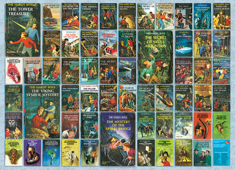 Hardy Boys - Cobble Hill Puzzle Co - 1000 piece - mystery